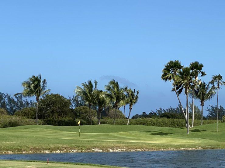 5th hole at North sound golf club