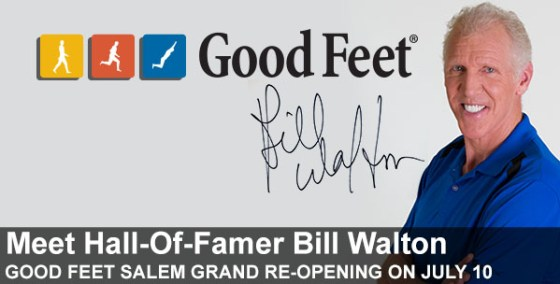 Meet Bill Walton + Grand Re-Opening