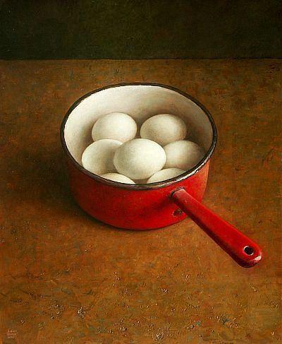 Яйца в ковшике