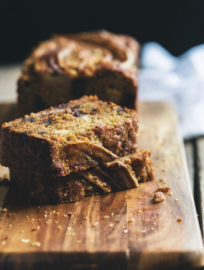 my favourite vegan chocolate banana bread 7