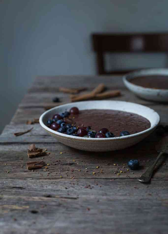With exotic cinnamon, cayenne pepper and sea salt, this vegan Mexican Inspired Chocolate Chia Pudding are a perfect breakfast indulgence or anytime treat.