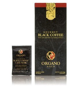 Organo Gold Gourmet Black (30 Sachets) – 4 Box Pack (4-Pack)