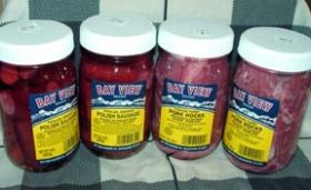 Bay View Pickled Meat Lover's Gourmet Sampler Gift