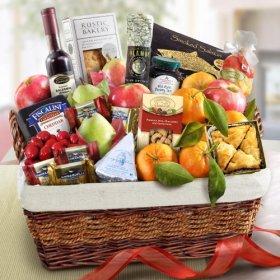 California Deluxe Farmstead Fruit Basket