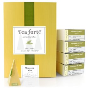 Tea Forte Event Box – 48 Silken Pyramid Infusers – Moroccan Mint