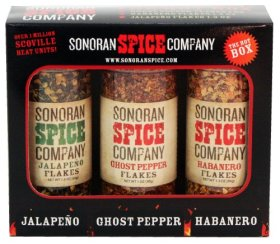 Ghost Pepper – Habanero – Jalapeno Flakes 3 Pack