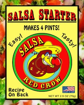 Red Crow Salsa Starter 6-Pack 2.5oz each