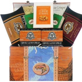Art of Appreciation Gift Baskets Smoked Salmon and Seafood Gift Box