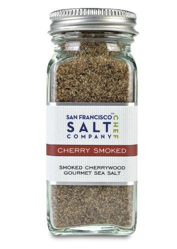 4 Oz Glass Shaker – Cherrywood Smoked Sea Salt