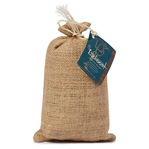LifeBoost Premium Single Origin Organic Fair Trade Nicaraguan Coffee Beans – 12 oz Bean Dark Roast