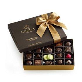 GODIVA Chocolatier 27 pc. Dark Chocolate Gift Box – Classic