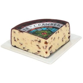 Wensleydale with Cranberries (1 pound) by Gourmet-Food
