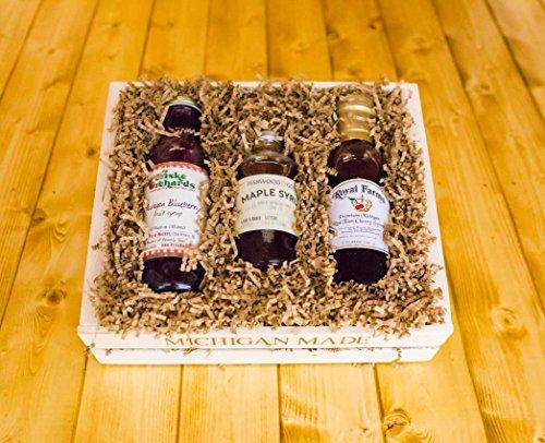 Michigan Gift Basket: Michigan Syrup Supreme