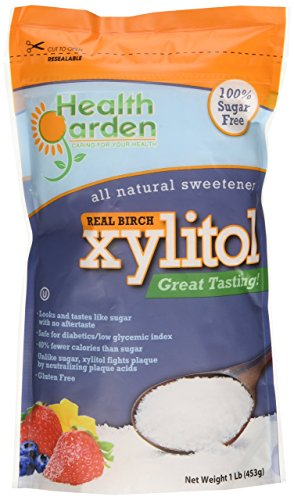 Xylitol Health Garden Kosher Birch 1 lbs. Product Of USA (Not From Corn)