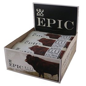Epic All Natural Meat Bar, 100% Grass Fed, Beef, Habanero and Cherry Meat Bar, 12 count