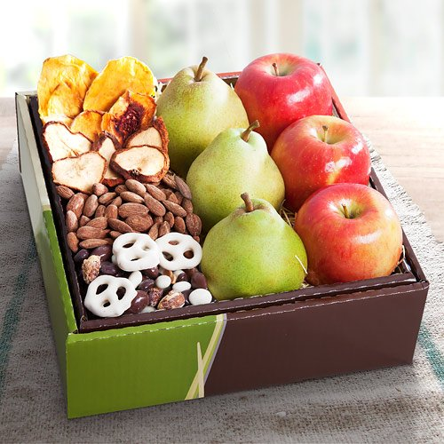 Organic Sierra Treats and Fruit Gift