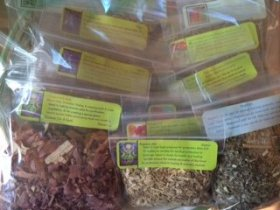 Herbal Collection: 15 Herb Starter Set ~ Ravenz Roost herbs ~ 1/2 oz ea ~ Wicca ~ Spells