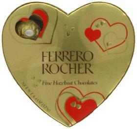 Ferrero Rocher Heart, 10 Count