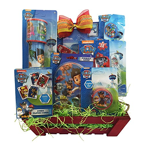 Paw Patrol Easter Children Gift Baskets for Boys, Girls of All Age