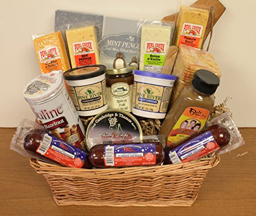 Premium Meat and Cheese Basket