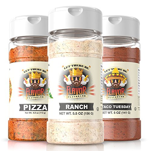 #1 Best-Selling 5oz. Flavor God Seasonings (Party Pack)