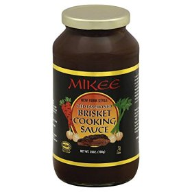 Mikee Old Fashioned Brisket Cooking Sauce, 25 Ounce — 12 per case.