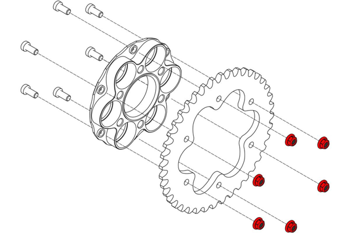 520 Conversion Kit Panigale-V4-Monster-Supersport by CNC