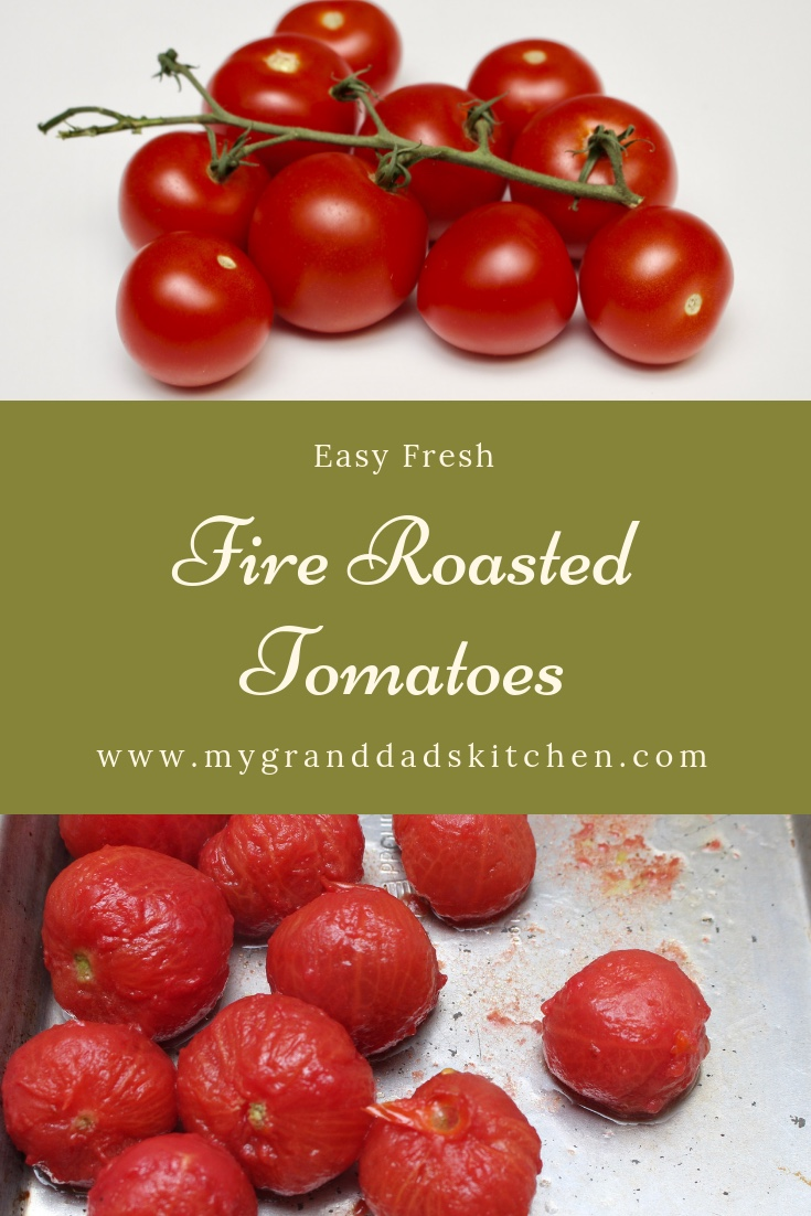 Fresh Fire Roasted Tomatoes
