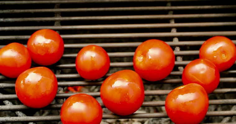 Super Easy Fire Roasted Tomatoes