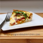 This easy to make heirloom tomato and blue cheese tart will become a family weekend brunch favorite. The rich flavor of juicy heirloom tomatoes pairs well with the smoky flavor of the blue cheese and fluffy egg, all wrapped up in a flaky puff pastry crust.