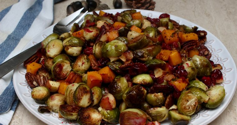 Brussel Sprouts with Butternut Squash