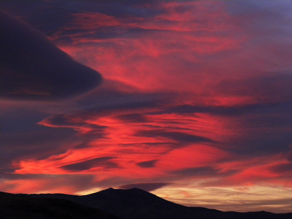 More Fiery Red Clouds