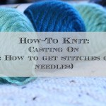 How to Knit Casting on stitches
