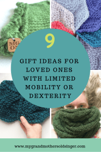 Gift Guide for loved ones with limited mobility or dexterity