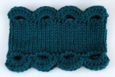 Marilue Cowl shown in the teal color