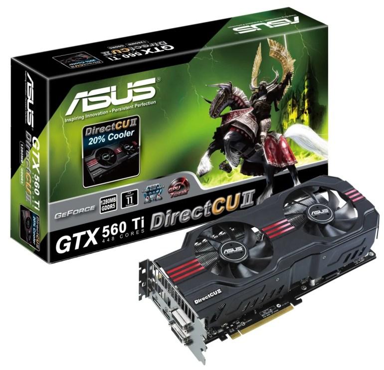 ASUS GTX 650Ti DirectCU II TOP