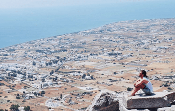 Ancient Thira, Photo by: tiagodealmeidaesilva (Source: Instagram)