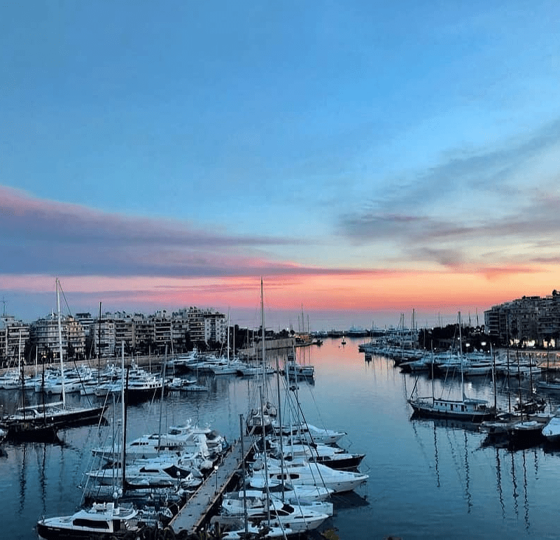 Piraeus Port, Photo by: maryagony (Source: Instagram)