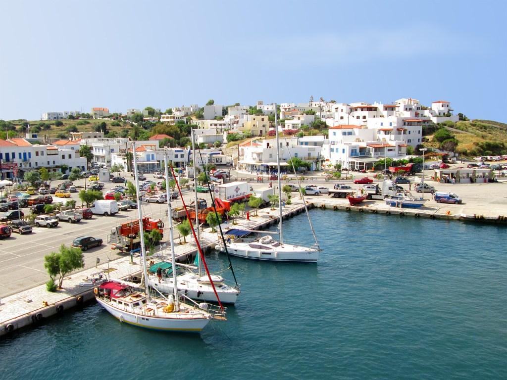 Gavrio Andros Port