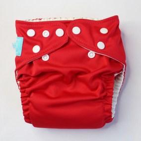 Red Charlie Banana Pocket Diaper