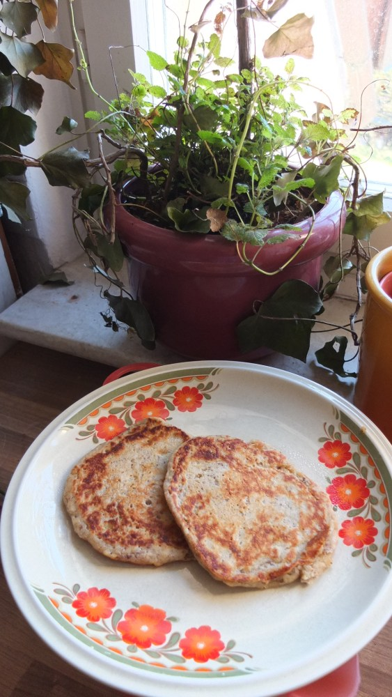 Banana Spelt Pancakes (3/3)