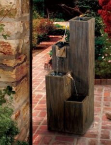 House Warming Gift Ideas - Wooden water Fountain