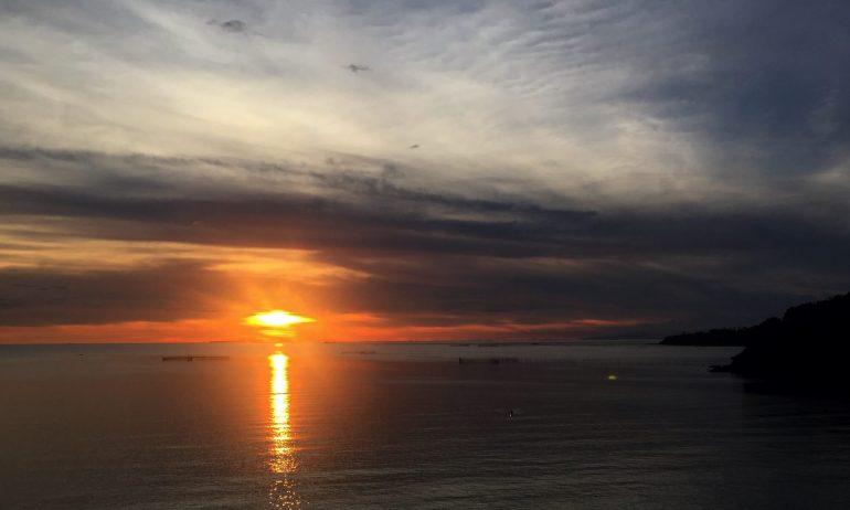 Dakak sunset