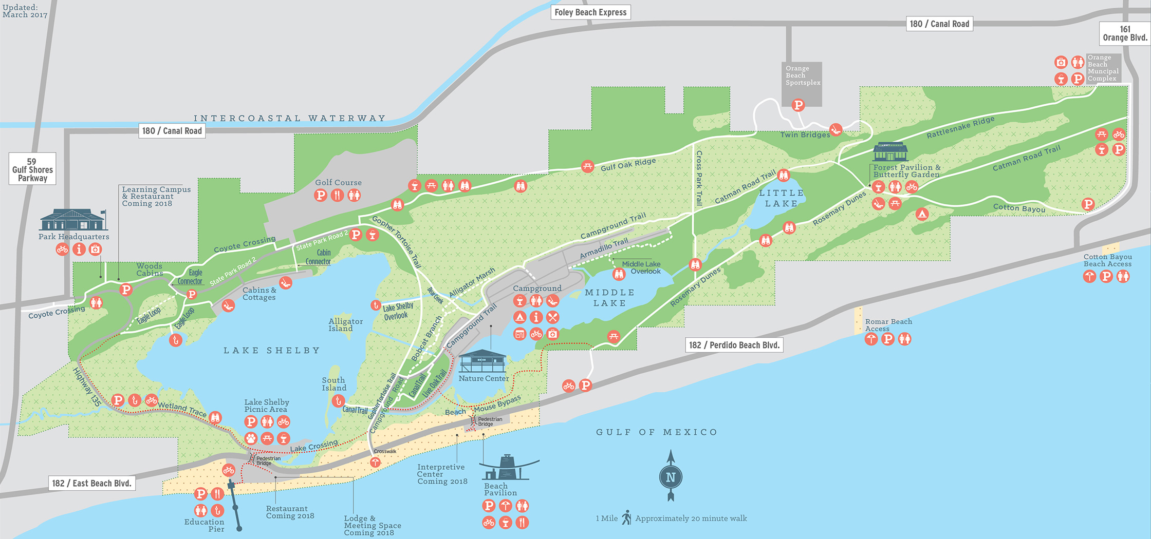 Park Map - Alabama Gulf State Park