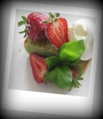 Basil cake 1