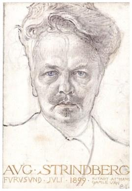 august-strindberg-1899 - wikipainting org