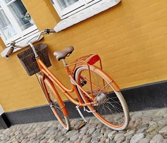 golden bike