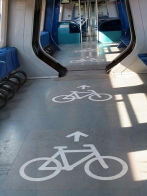 train bike garage.