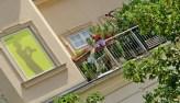 city center balcony