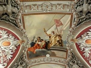 The Venetian celing